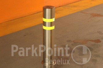 Afzetpaal-vast  Fixed Post/Bollard PP-F01 Ø114 mm RVS
