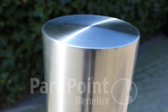 Afzetpaal - Fixed Post/Bollard PP-F02 Ø140 mm RVS